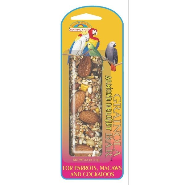 Grainola for Large Hookbills 2.5 oz. / Flavor (Almond Delight) Best Price