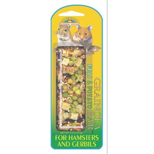 Grainola Hamster / Gerbil 2.5 Oz. / Flavor Pea And Potato