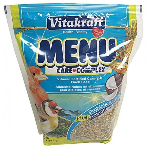Vitakraft Canary and Finch Menu - 2.5 lbs Best Price