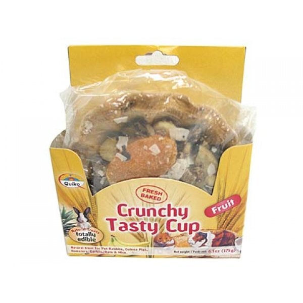 Quiko Crunchy Tasty Cup Fruit 6.1 Oz.