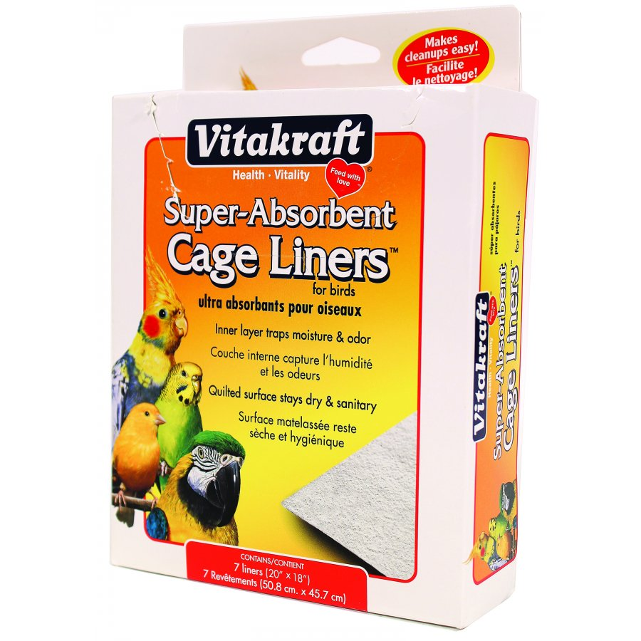 Absorbent Bird Cage Liners
