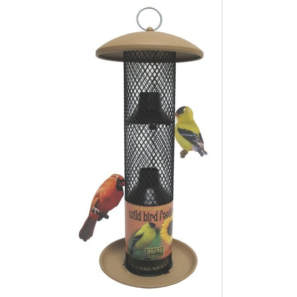 NO-NO Straight-Sided Sunflower Tube Feeder (Case of 6) Best Price