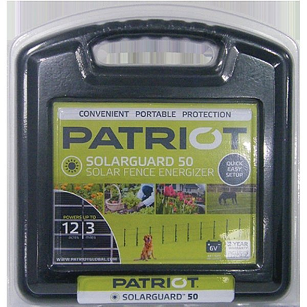 Patriot Solarguard 50 Fence Energizer Best Price