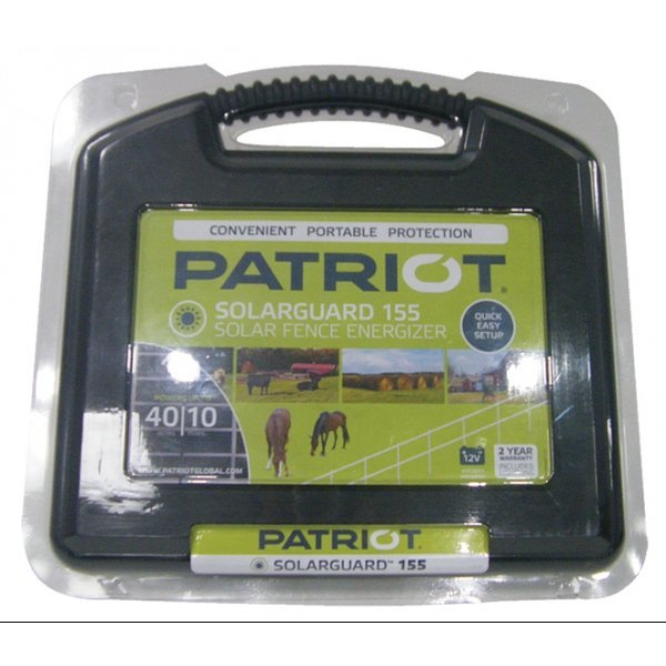 Patriot Solarguard 155 Fence Energizer Best Price