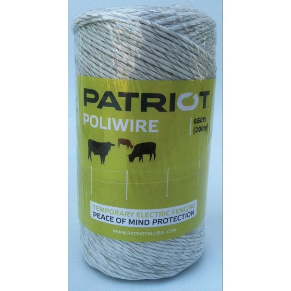 Patriot Poliwire for Fencing - 660 ft. Best Price