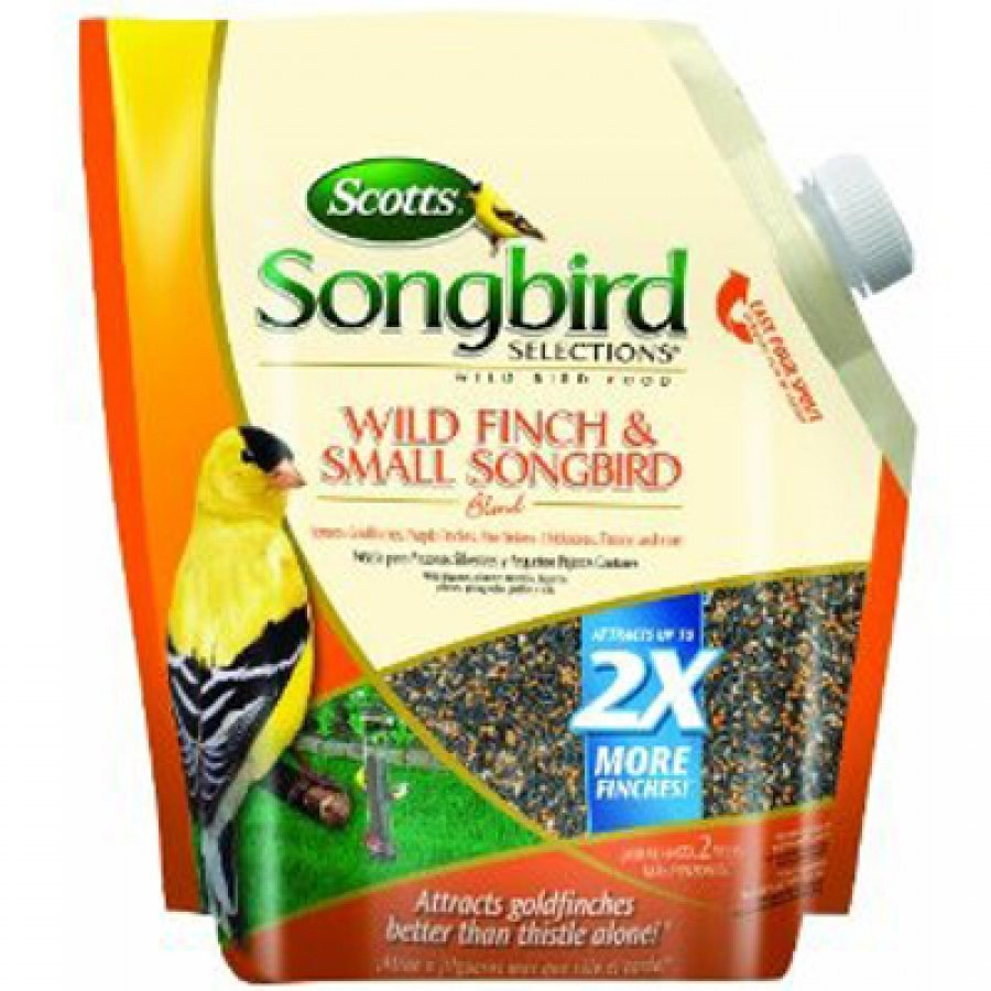 Scotts Songbird Wild Bird Finch and Small Songbird Blend  (Case of 4) Best Price