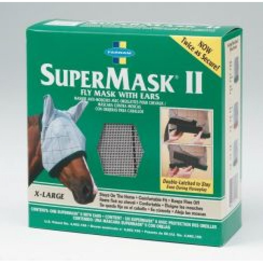 Supermask Horse Fly Mask / Type (XLarge w/ears) Best Price