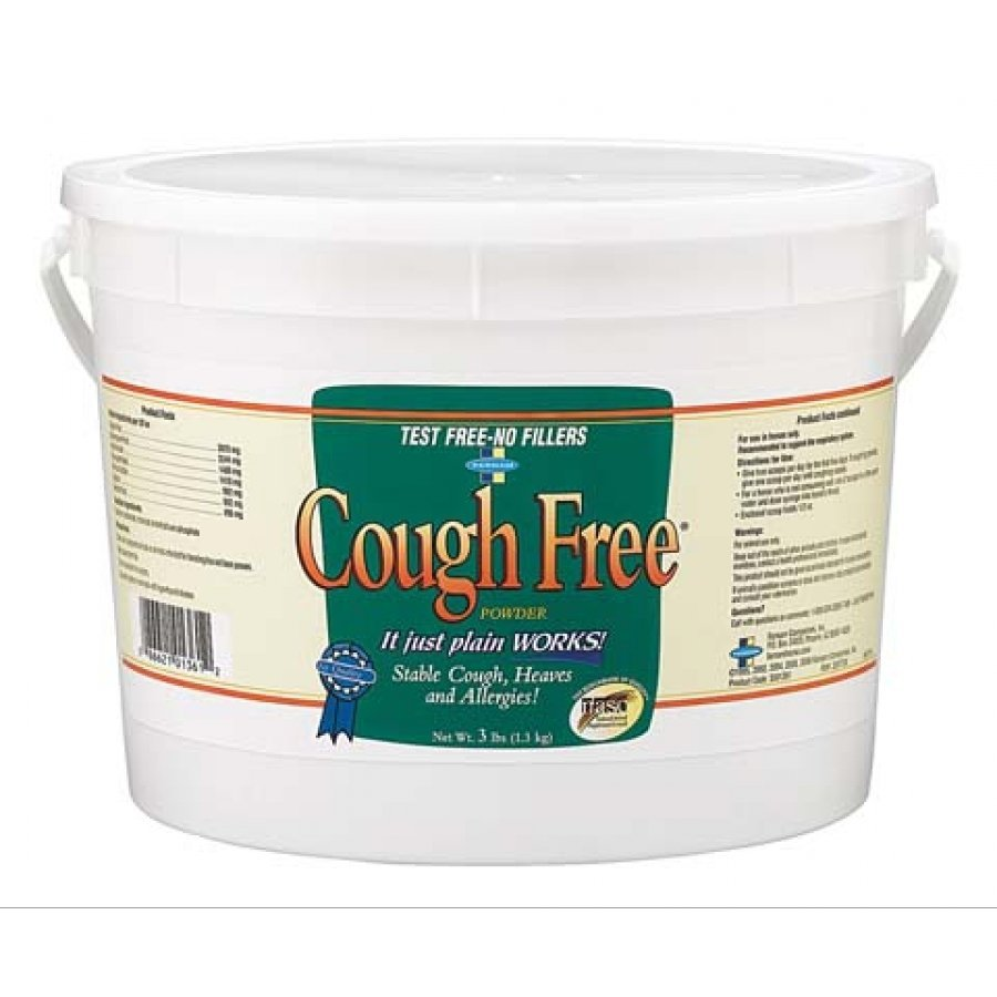 Equine Cough Free Powder 3 lbs Best Price