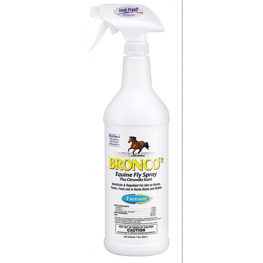 Bronco E Equine Fly Spray Plus Citronella Scent / Size (32 oz.) Best Price