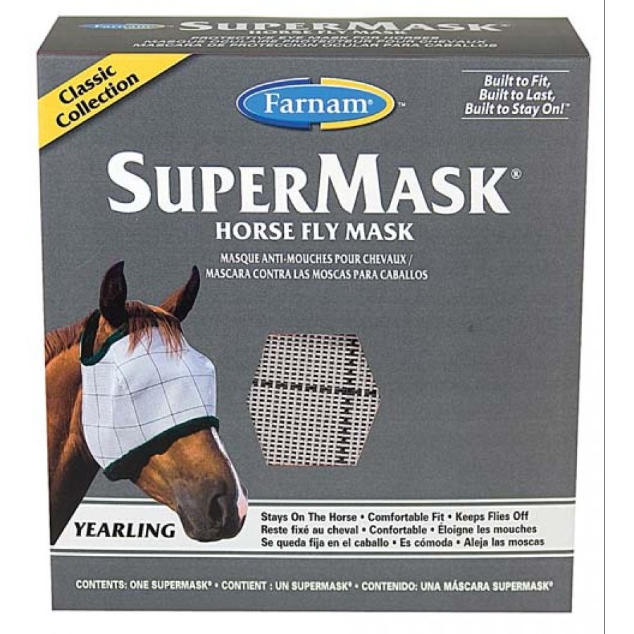 Supermask 2 Fly Mask / Size (Yearling w/o Ears Classic) Best Price