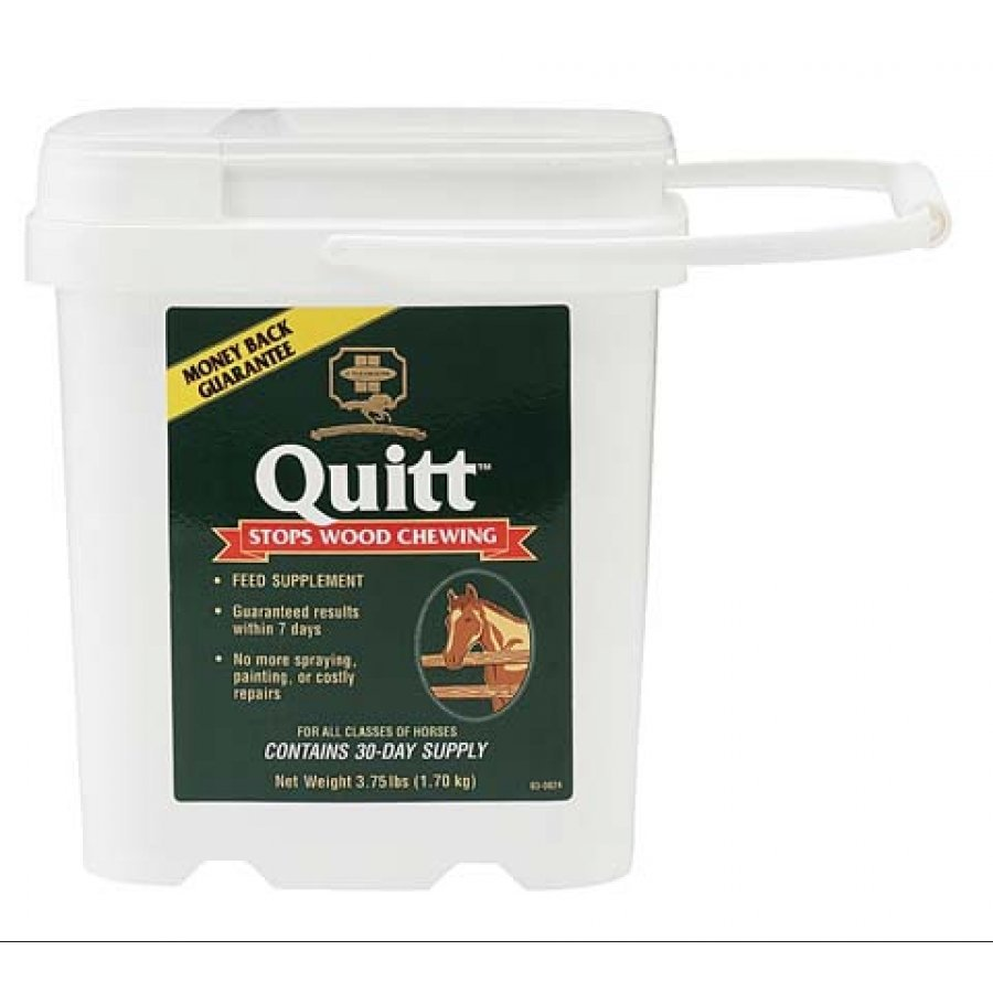 Quitt - Supplement to Eliminate Wood Chewing / Size (3.75 lbs.) Best Price