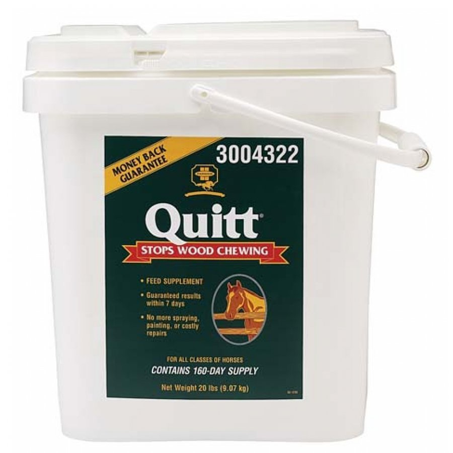 Quitt - Supplement to Eliminate Wood Chewing / Size (20 lbs.) Best Price