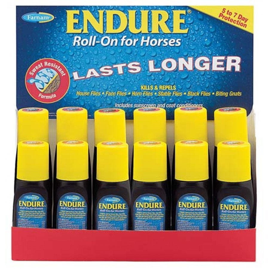 Endure Sweat-Resistant Fly Control / Size (3 oz. Roll-on)