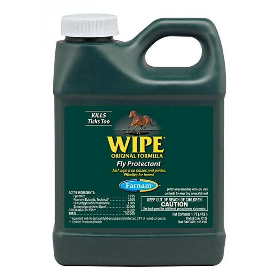 Wipe Equine Fly Protectant / Size (Pint) Best Price