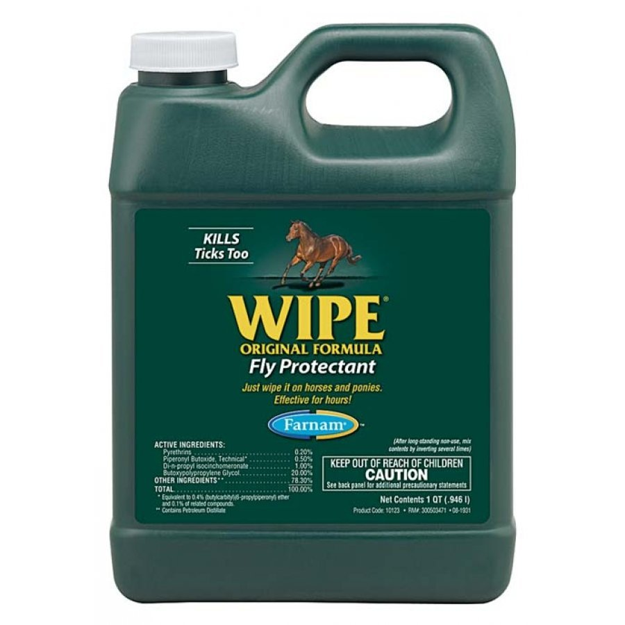 Wipe Equine Fly Protectant / Size (Quart) Best Price