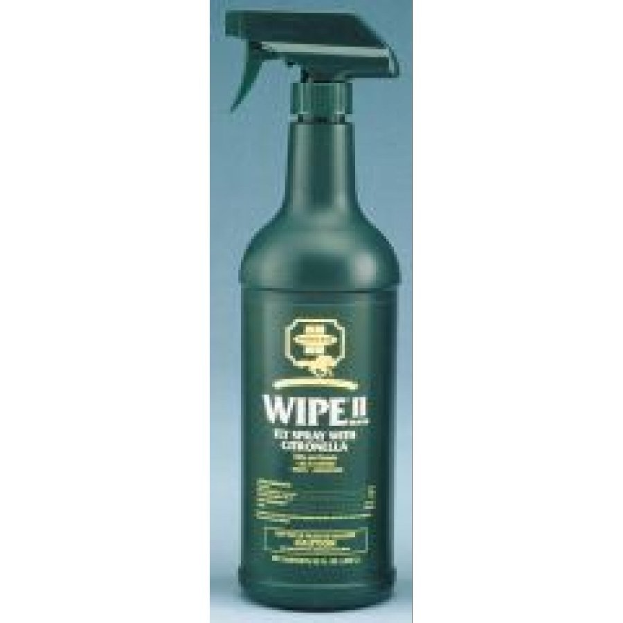 Wipe II with Citronella Equine Fly Spray - 32 oz. Best Price