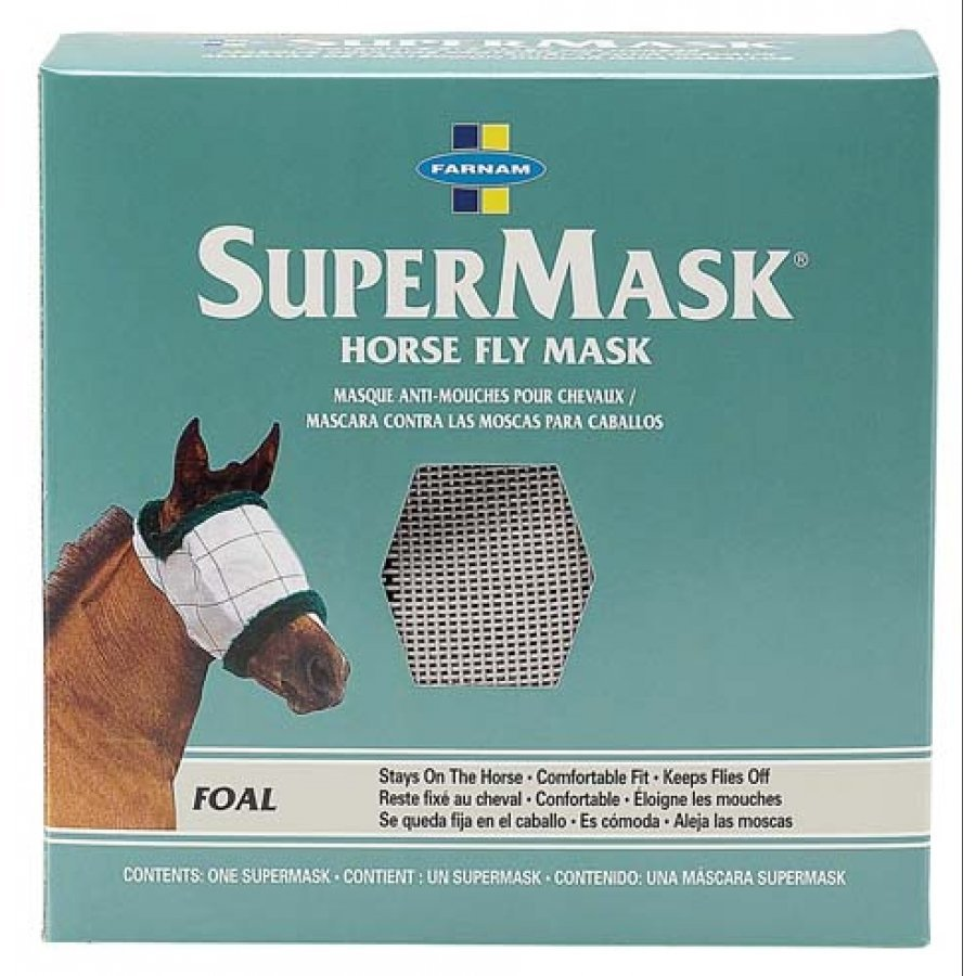 Supermask Horse Fly Mask / Type (Foal - no ears) Best Price
