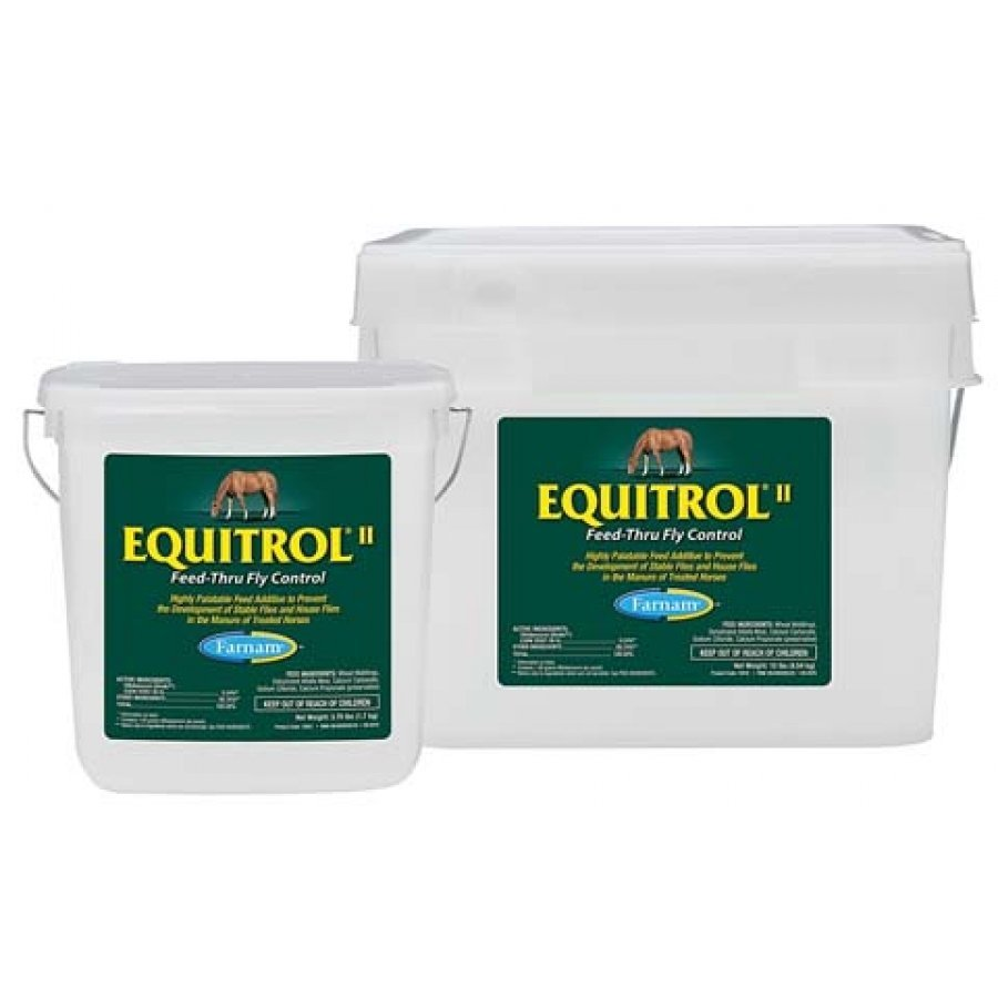 Equitrol II  Feed-Thru Fly Control / Size (3.75 lbs.) Best Price