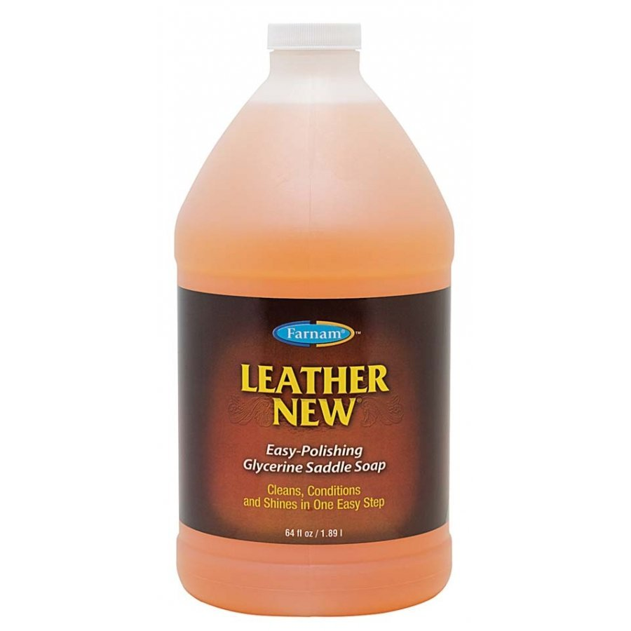 Leather New - Self Polishing Saddle Soap / Size (1/2 Gallon) Best Price