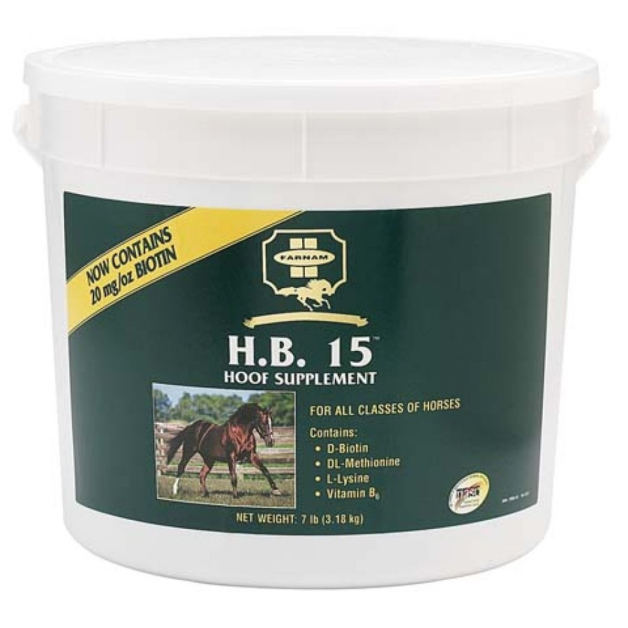 H.B. 15 Biotin Supplement for Horses / Size (7 lbs) Best Price