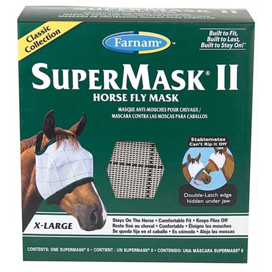Supermask 2 Fly Mask / Size (XL Horse w/o Ears Classic) Best Price
