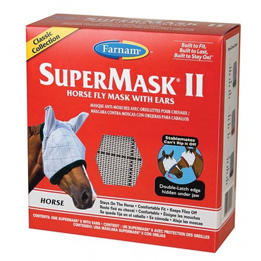 Supermask 2 Fly Mask / Size (Horse w/Ears Classic) Best Price