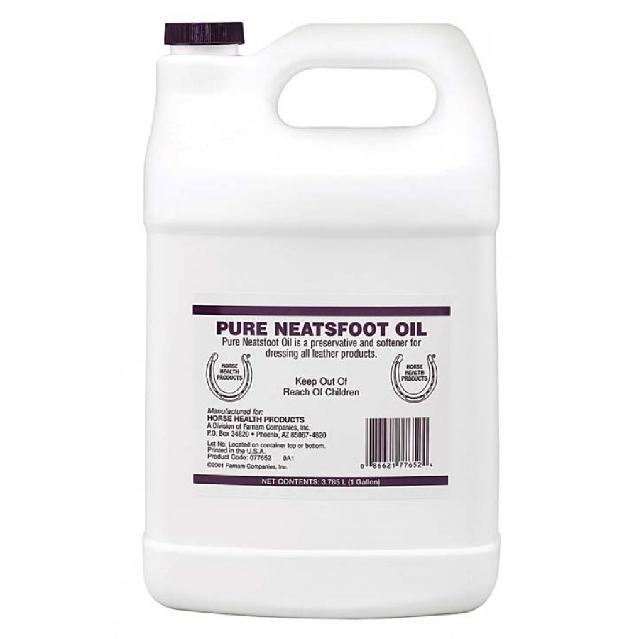100 Percent Pure Neatsfoot Oil / Size (Gallon)