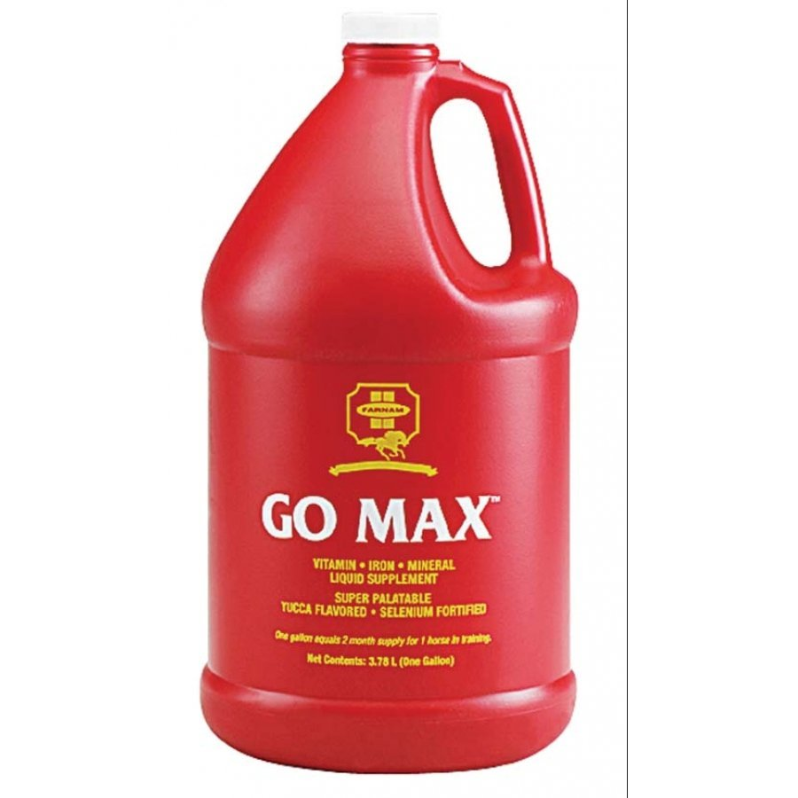 Go-Max Equine Liquid Supplement - Gallon Best Price