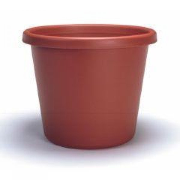 Classic Flower Pot / Size (16 in / Clay) Best Price