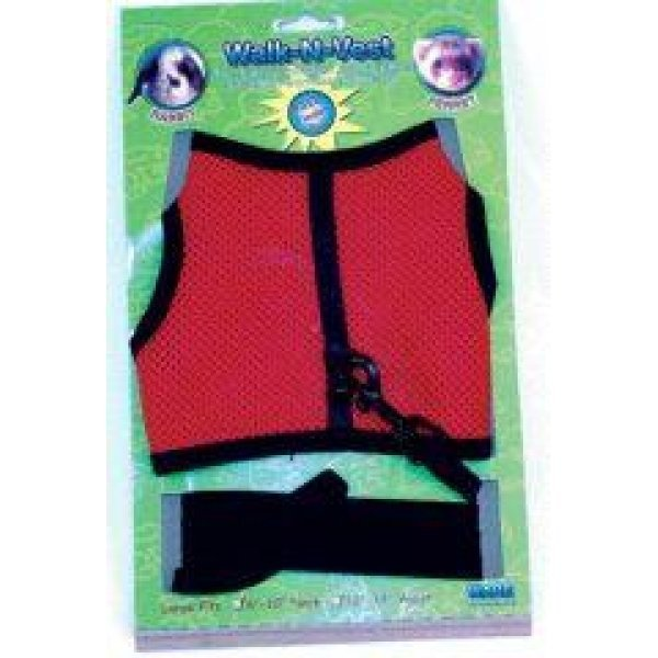Walk-N-Vest Leash for Small Animals / Size (Large)