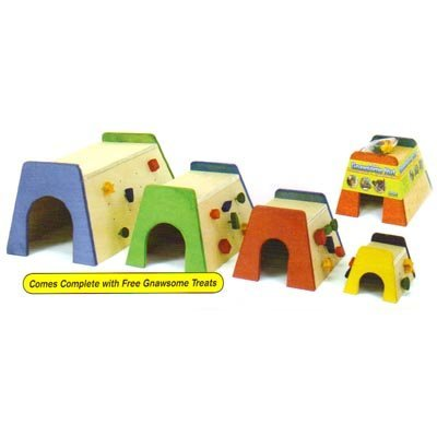 Gnawsome Huts For Small Animals / Size Medium