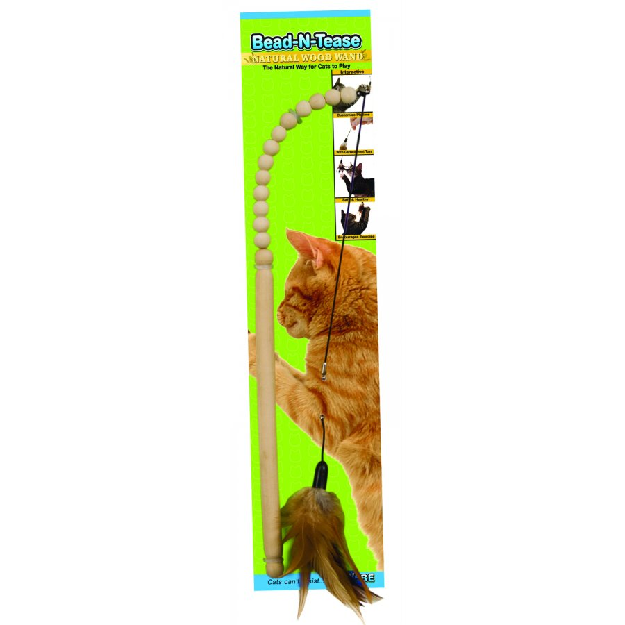 Bead N Tease Cat Wand Toy