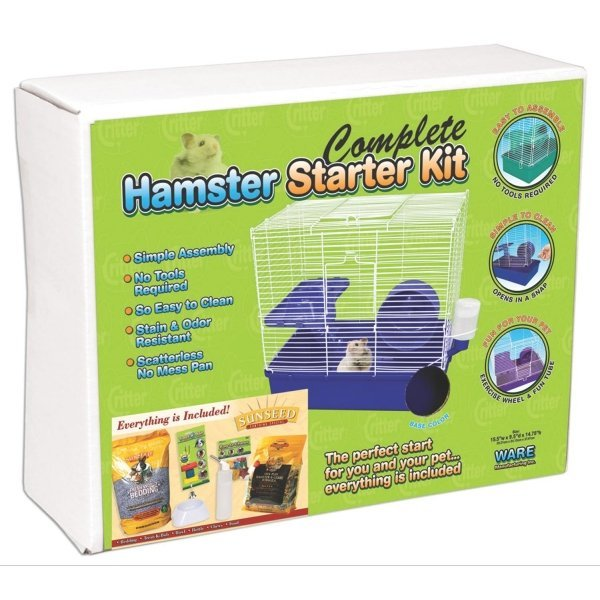Hamster Starter Kit / Food Brand (Sun Seed) Best Price