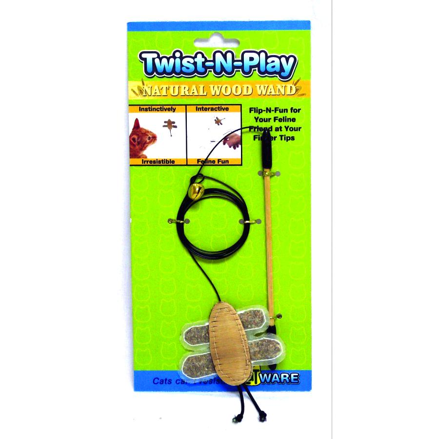 Twist N Play Natural Cat Toy