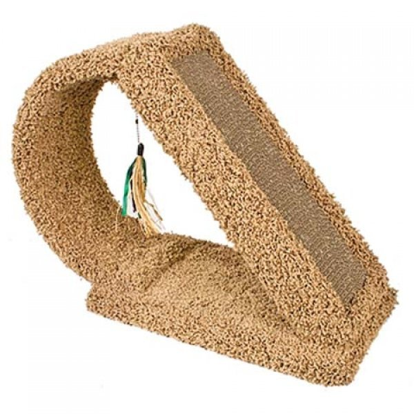 Kitty Scratch Tunnel with Scratcher - 9.5 X 23 X 18.5 Best Price