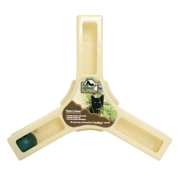 Play-N-Squeak Natures Course Cat Toy Best Price