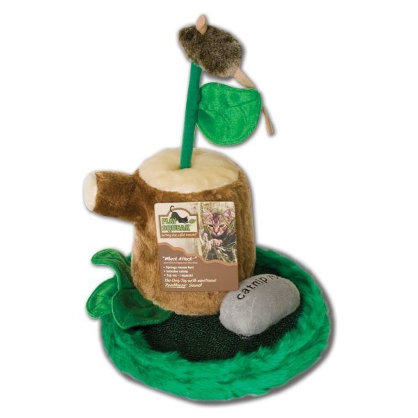 Play-N-Squeak Whack Attack Cat Toy Best Price