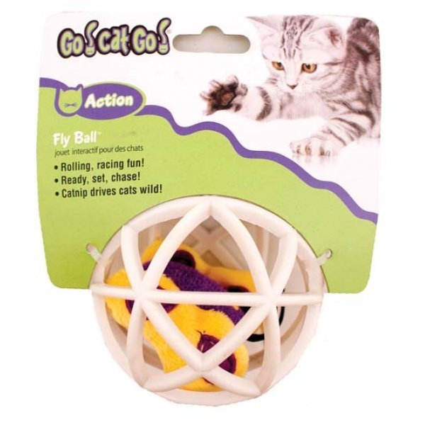 Butterfly In Cage Ball Cat Toy Best Price
