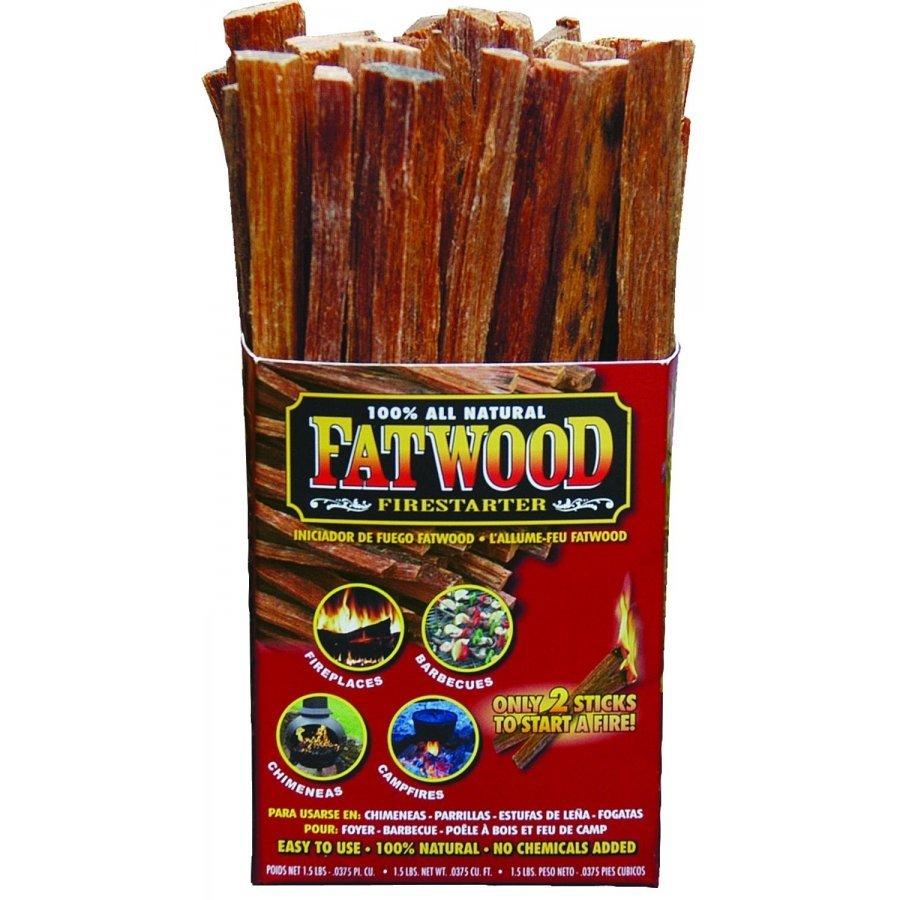 Fatwood Firestarter - 1.5 lb. Box  (Case of 16) Best Price