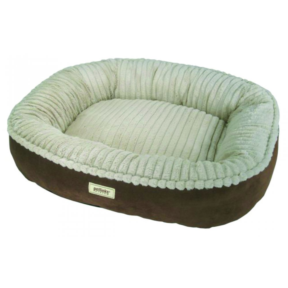 Canine Cocoon Premium Bolstered Pet Bed 28 X 24 In.