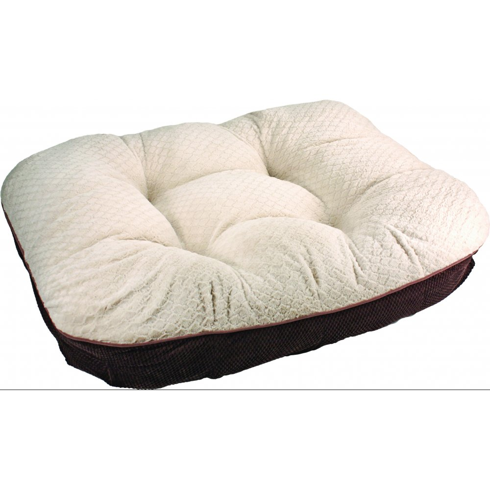 Deluxe Dreamer Pet Bed With Memory Foam Cushion 39 X 35 In.