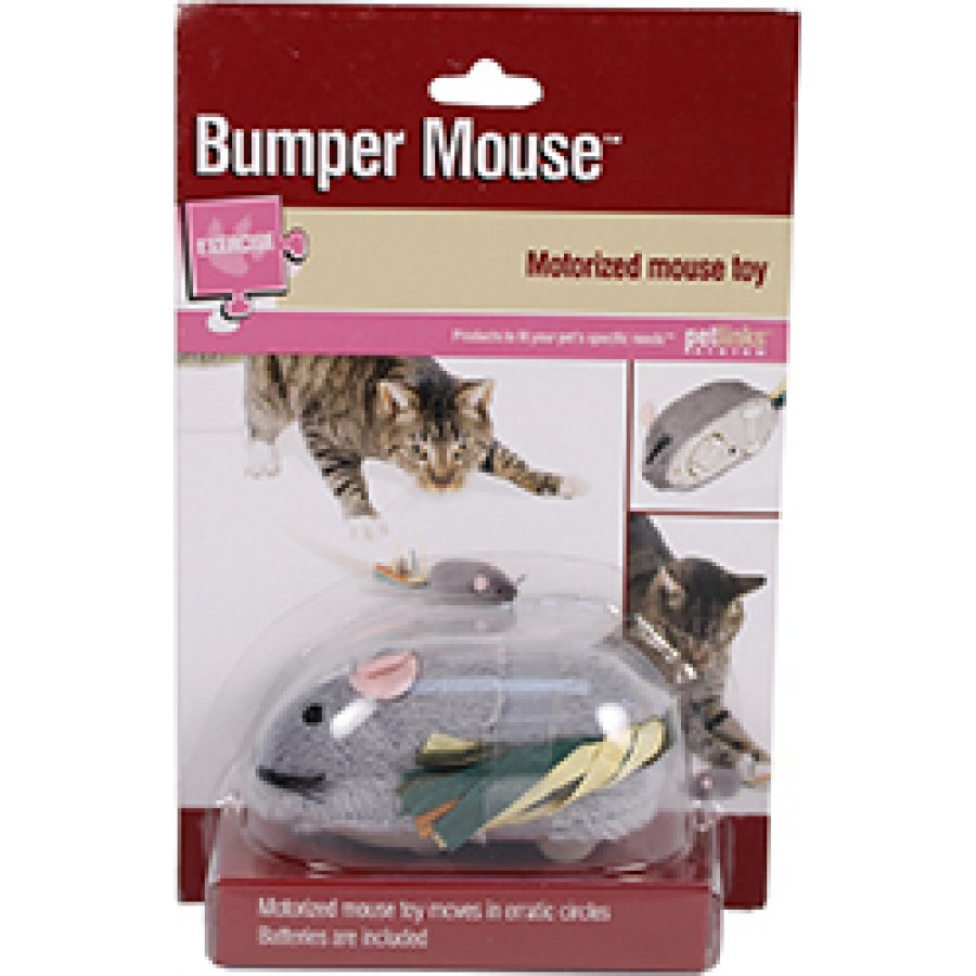 Petlinks Bumper Mouse Motorized Cat Toy Dog Products
