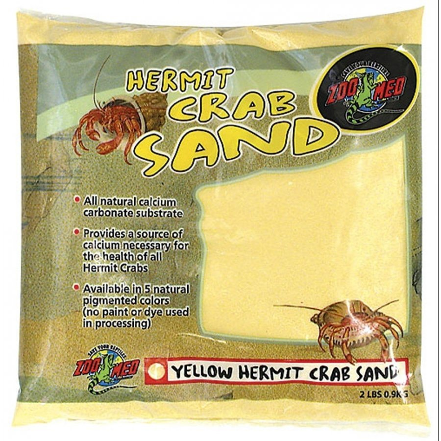 Hermit Crab Sand / Color Yellow