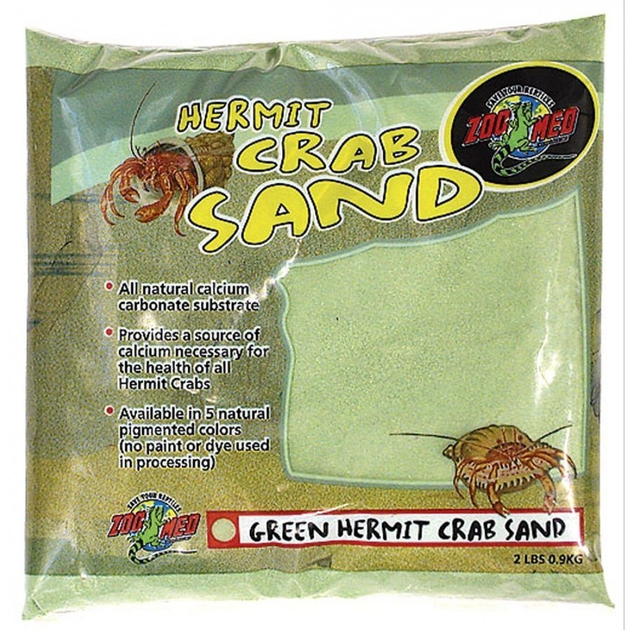 Hermit Crab Sand / Color Green