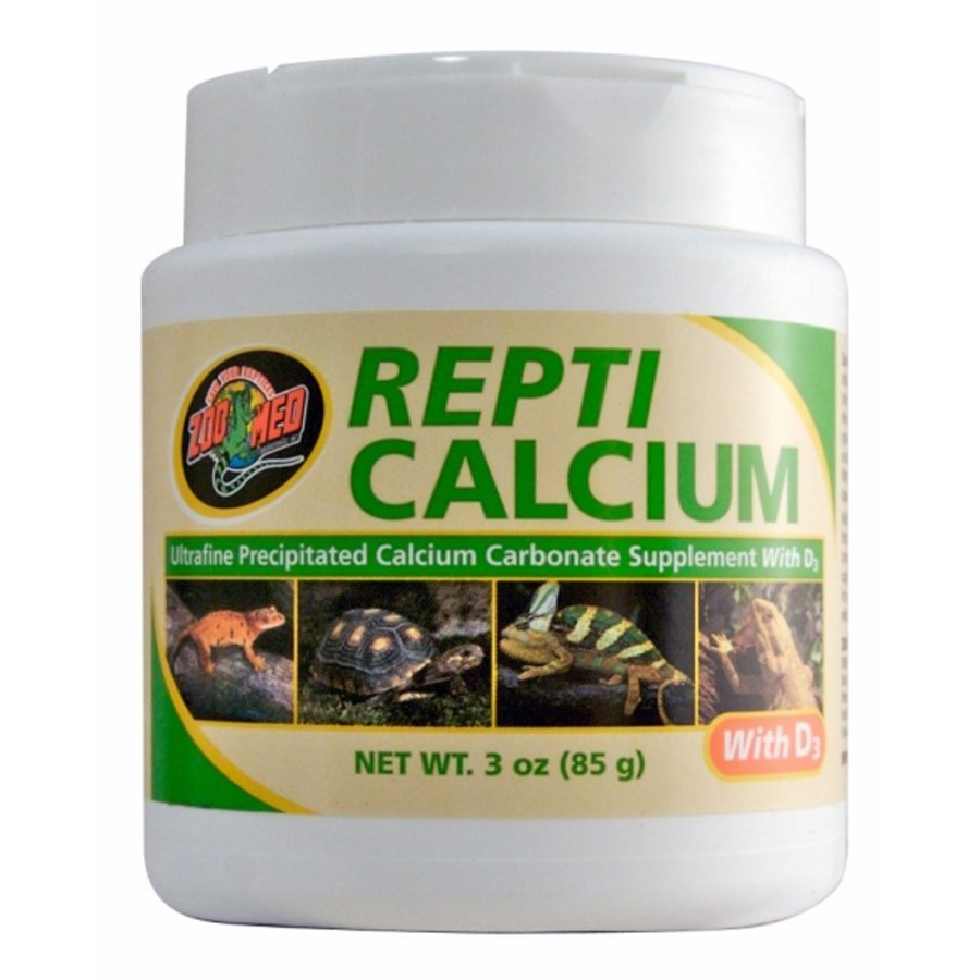 Repti Calcium With D3 Reptile Supplement / Size 3 Oz.