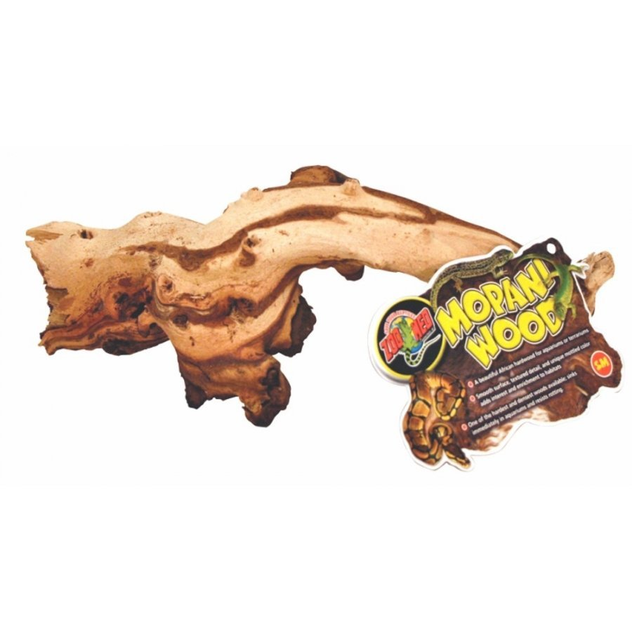 Mopani Wood Decorations For Aquariums / Size Small