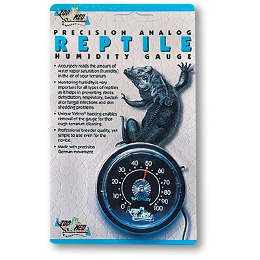 Precision Analog Reptile Humidity Gauge