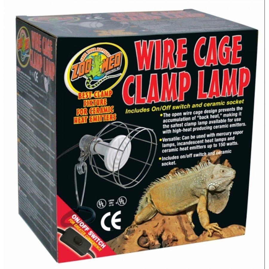 Porcelain Reptile Clamp Lamp 150 Watts