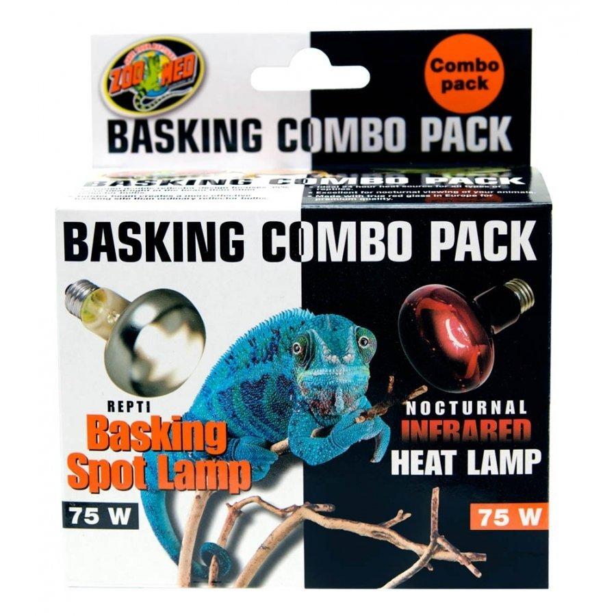 Reptile Basking Combo Pack 75 Watt