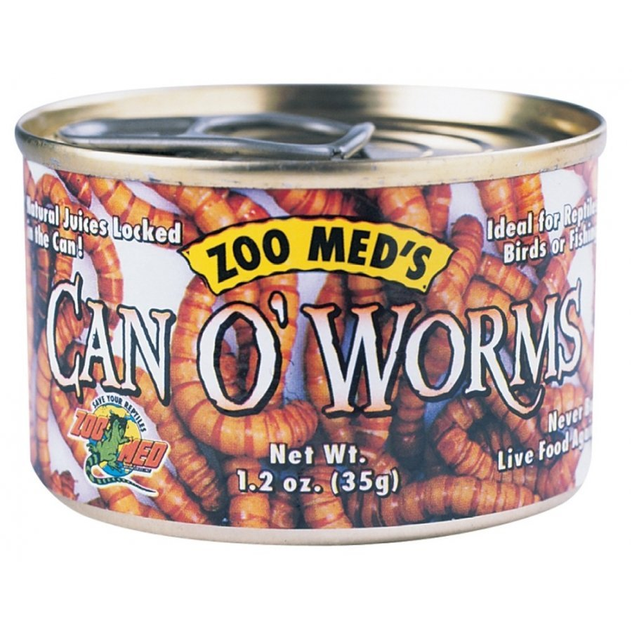 Reptile Can O Worms 1.2 Oz